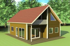 Как отделать фасад каркасного дома