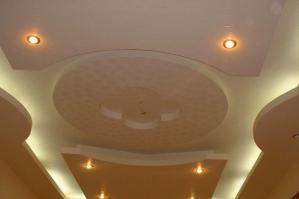 Обшивка потолка гипсокартоном: подробности, этапы