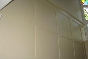 Отделка коридора пластиковыми панелями