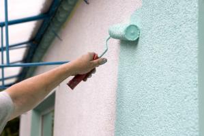 Расход фасадной краски - от чего он зависит