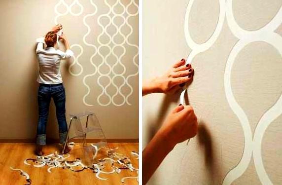 Декоративная штукатурка на стене смотрится отлично! - otdelat.ru