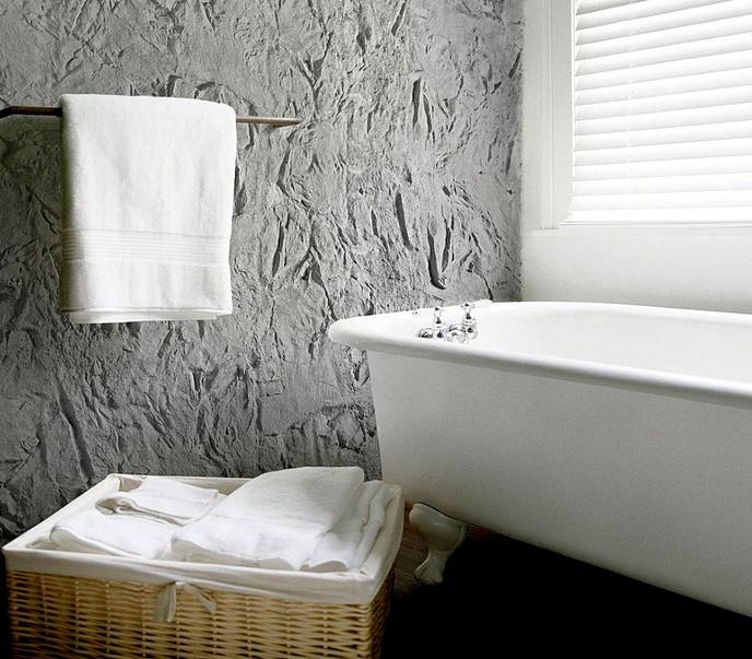 Дизайн пластиковых панелей для отделки ванной комнаты может быть различным - otdelat.ru