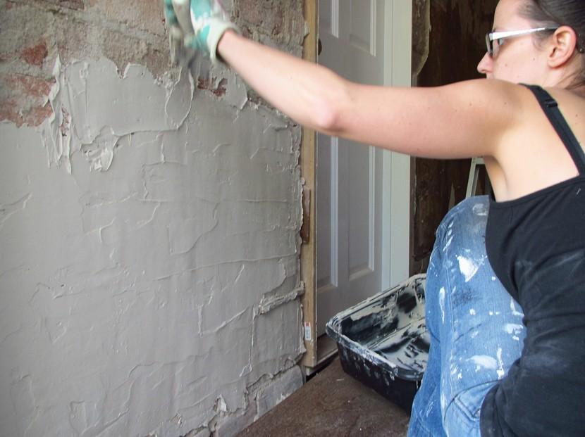 Штукатурки на цементной основе часто выбирают для стен - otdelat.ru
