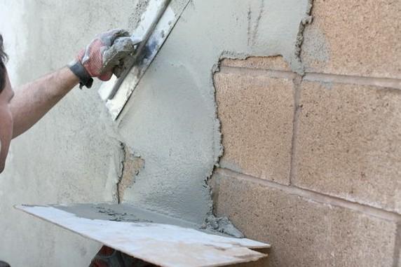 Оштукатуривание стены снаружи - otdelat.ru