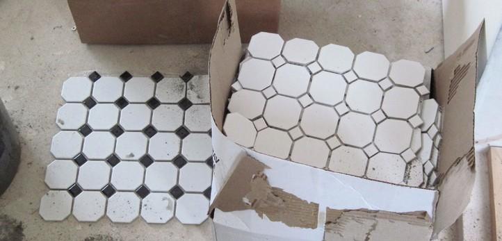Многообразие форм и расцветок пластиковой плитки для отделки ванных комнат поражает воображение - otdelat.ru