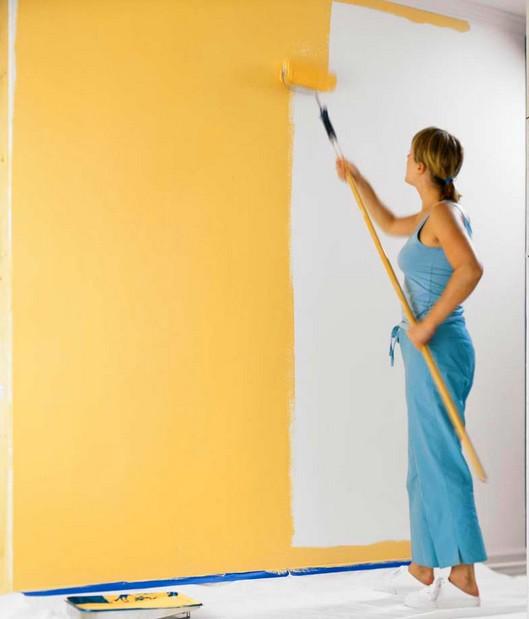 Краска масляная - хороший вариант для сухого и тёплого помещения (но не для ванных комнат) - otdelat.ru