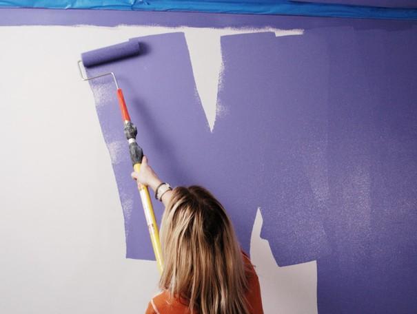 Окрасить стены краской - лучший способ освежить обстановку в комнате - otdelat.ru