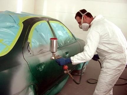 Пневматическими пульверизаторами часто окрашивают машины - otdelat.ru