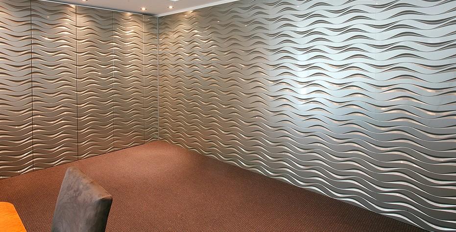 Стеновые панели в помещении - отделка смотрится достойно - otdelat.ru