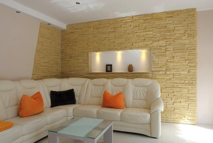 Популярные решения для стен: имитация камня или натурального дерева - otdelat.ru