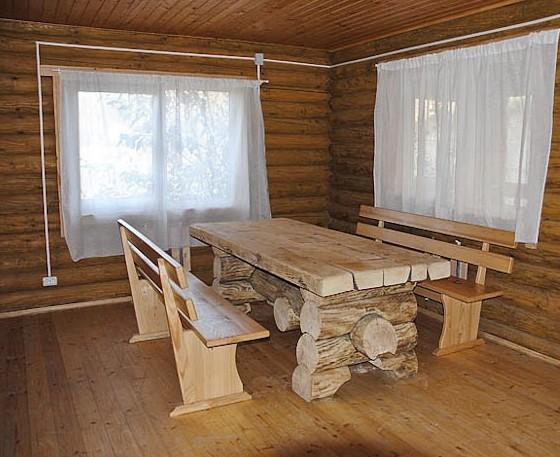 Скромная обстановка в банной комнате отдыха - otdelat.ru