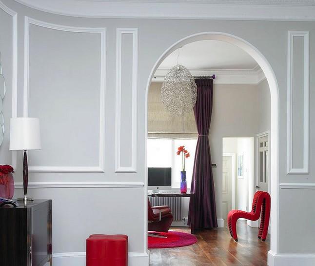 Такая декоративная отделка арок: фото - лучшее подтверждение, что даже в несущей стене можно получить красивый конструктивный элемент - otdelat.ru
