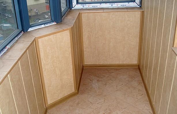 Примерно так может выглядеть готовый балкон - otdelat.ru