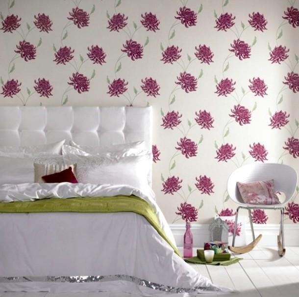 Нежность и умиротворение - то, что подойдёт для спальных комнат - otdelat.ru