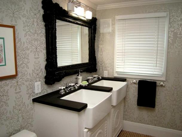 Обои для ванных комнат и кухонь должны быть моющимися и влагостойкими - это очень важно - otdelat.ru