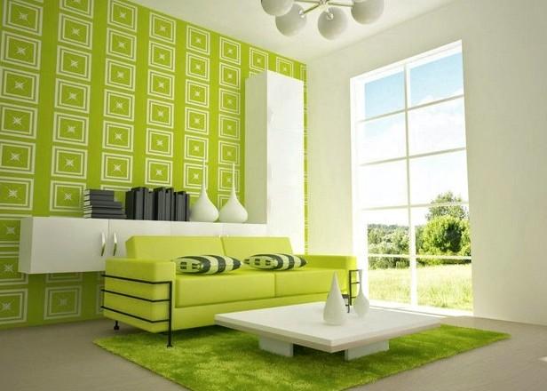 Зеленый и белый - цвета, которые вместе смотрятся достойно - otdelat.ru
