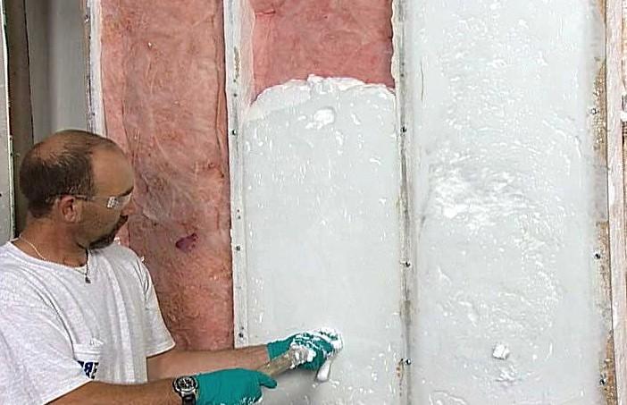 Утеплить стены внутри частного дома пенопластом - такой путь выбирают многие хозяева (в чём совершенно правы) - otdelat.ru