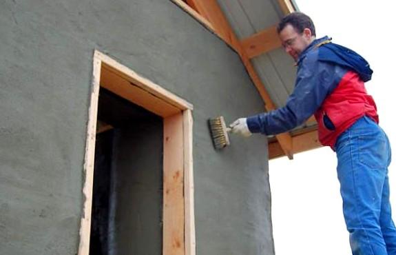 Фасадную штукатурку при желании можно приготовить своими руками - otdelat.ru