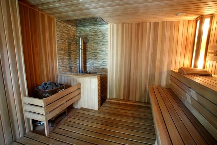 Оригинальные бани из пеноблоков внутренняя отделка