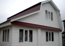 Чем отделать стены на даче