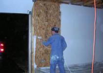 Монтаж OSB на стены: советы