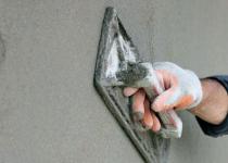 Штукатурка стен песчано-цементным раствором