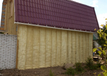 Утеплитель для стен каркасного дома