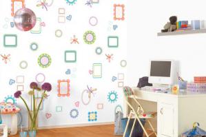 Отделка детской комнаты: стены и не только